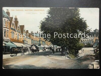 Birmingham SUTTON COLDFIELD The Parade c1905 by Scott Series 825