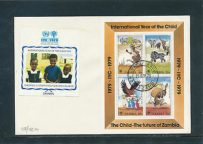 Zambia Int.Year of the Child 1979, Jahr des Kindes   28/6/15