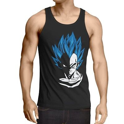 Super Vegeta Herren Tank Top son dragon roshi ball goku evolution fitness sport