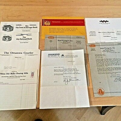Misc Lot Of Letterhead See Photos