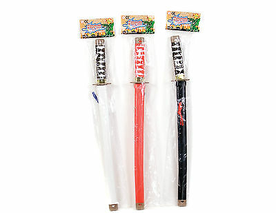 New Childrens Safe Plastic Toy Samurai Swords Kids Colourful Play Fighting Sword