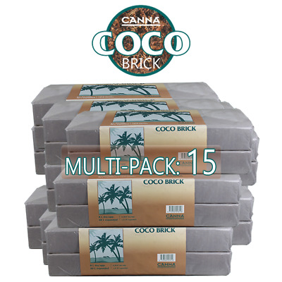 Canna Expandable Coco Coir Brick 40L Soil Growing Medium Substra RHP, 40 Liters