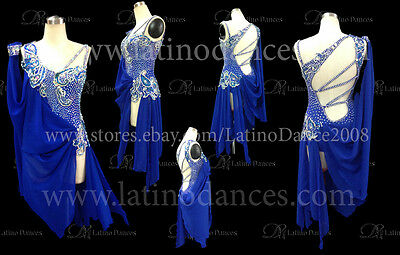 Latino Dance Dress  Competition  With High Quality Stone M370