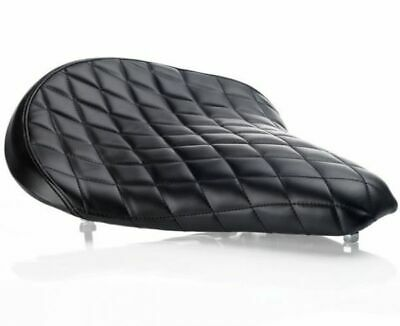 Biltwell Motorcycle Solo Seat Black Diamond Stitch Finish