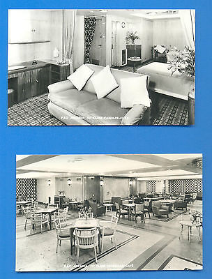 Arcadia.p&o Orient Line.4 Real Photographic Postcards Of Interiors