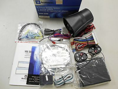 12497737 Gm Car Alarm Vehicle Safety System 1994-2004 Chevy