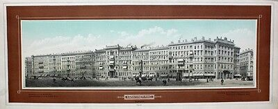 Wien Ringstraße Kärtner-Ring Sirkecke Grand Hotel Bristol Imperial Friedrich Bad