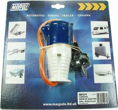 camping electric hook up adapter Electric hook-ups are becoming increasingly popular and a must have item for many camping and caravan enthusiasts, but what are they and what do you.
