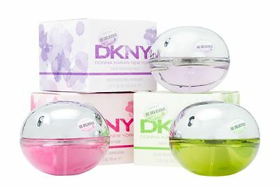DKNY Be Delicious Eau de Toilette 50ml Spray For Her EDT Perfume Women