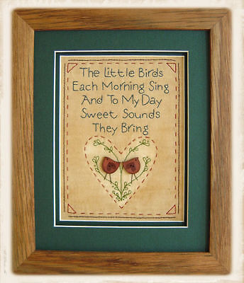 THE LITTLE BIRDS || Stitchery Pattern Pack ||