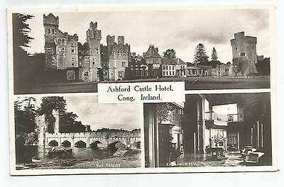 irish postcard ireland mayo ashford castle hotel