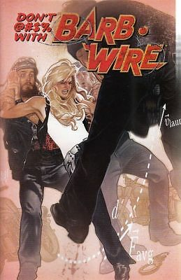 Barb Wire #1 (2015) Variant Cover (Dark Horse Comics)