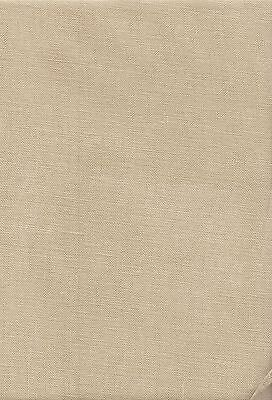 "32 count Zweigart Belfast Linen Fabric Fat Quarter  ""Summer Khaki"" 49 x 70cms"