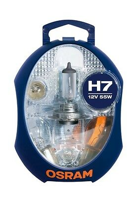OSRAM H7 Euro Replacement Spare Bulb(s) Kit