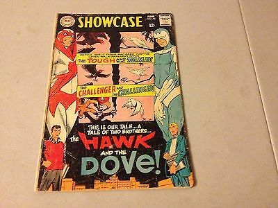 SHOWCASE #75 Silver Age comic 1st Appearance of HAWK AND DOVE Good/Very Good GVG