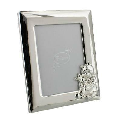 Disney Christening Silver Plated Winnie The Pooh Bear Photo Frame DI130