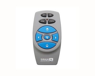 Sirius SCV1 Replacement Backseat TV Remote Control (New)