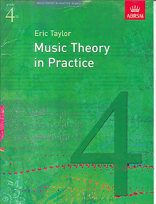 Music Theory In Practice: Grade 4 (ABRSM) Revised Sheet Music Tuition Book. NEW