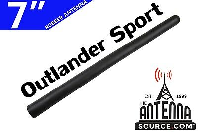 "NEW ROOF AM/FM 7"" ANTENNA MAST - FITS: 2011-2017 Mitsubishi Outlander Sport"