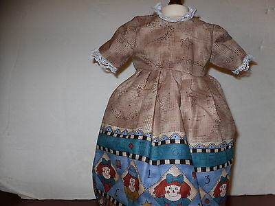 """Doll Clothes American Fashion  Dress #23  fits 18"""" Girl Doll"""
