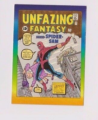 "1993 Marvel Active Marketing ""Spider-Man Unfazing Fantasy"" Promo Card"