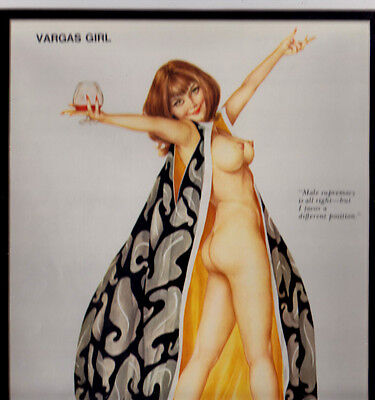 Alberto Vargas Girl Print Pin-Up Playboy Centerfold #14? Matted!!