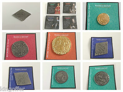 Rulers of britain coin collection magazine  various coins freepost low price