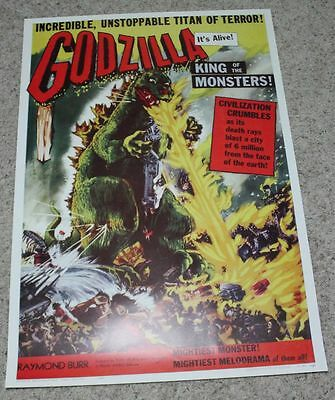 Godzilla -     27x40 movie poster - REPRINT