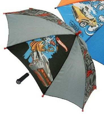 "Black and Gray Hot Wheels Boy's Umbrella - 27 "" in diameter"