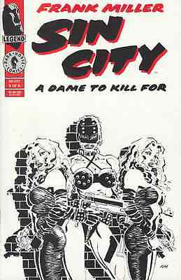 Sin City: A Dame To Kill For #5 (Dark Horse Comics) Boarded. Free Uk P+P!