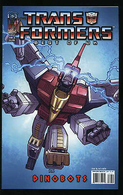 Transformers Best Of The Uk Dinobots #1-6 Very Fine Complete Set Idw