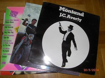 7 LP's 1970er J - Y. Montand + W. Houston + Rocky Horror Picture Show + ..  /S23