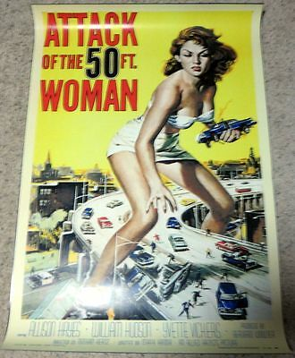 Attack of the 50' Woman  -     27x40 movie poster - REPRINT