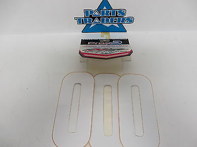 """NOS N-Style 7"""" Pro 2 Numbers 12mil Thick #0 White Universal NII-0W"""