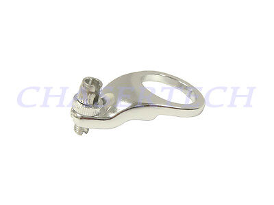 """New Tektro Bicycle Bike Alloy Theaded HS Front Brake Cable Hanger 1-1/8"""" Silver"""