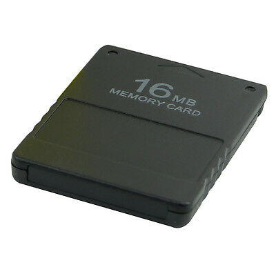 16MB Memory Card Store Card For Sony PlayStation 2 PS2 Game