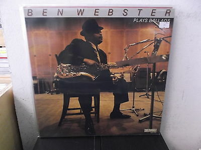 BEN WEBSTER Plays ballads LP M-/M- SWI