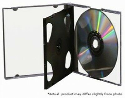 (SAMPLE) - 1 STANDARD Black Triple 3 Disc CD Jewel Case