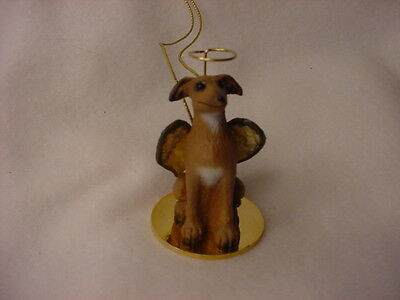 ITALIAN GREYHOUND Dog ANGEL Ornament Resin Figurine Statue NEW Christmas puppy