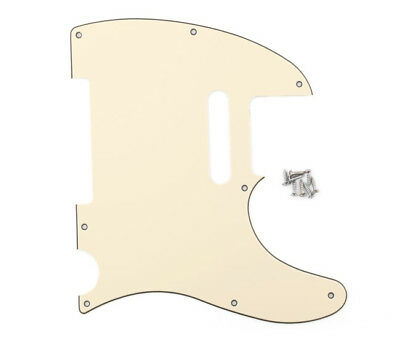 3 Ply Guitar Scratch Plate Tele Telecaster Style Pickguard/Scratchplate 6 Colors
