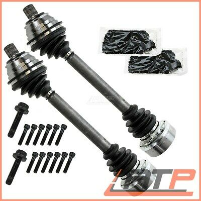 2x DRIVESHAFT FRONT LEFT LH + RIGHT RH DRIVE SHAFT VW TRANSPORTER BUS T4 MK 4