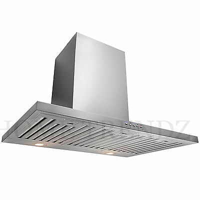 """30"""" Kitchen Wall Mount Stainless Steel Range Hood Stove Vents A4"""