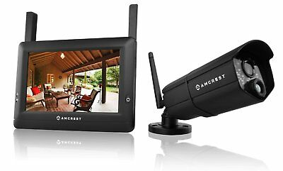 Amcrest WLD895 720P 4CH 7-Inch Touchscreen LCD Monitor Video Surveillance System