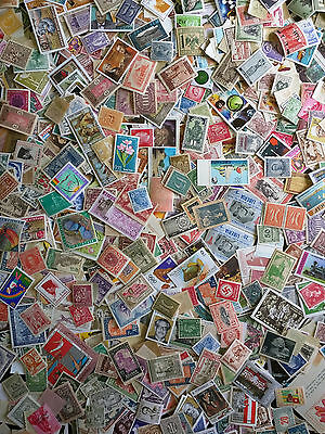 50 Different Worldwide Foreign MINT Stamps from Large Collection // MNH / MH