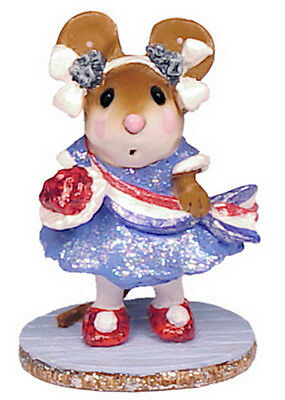 MISS LIBERTY by Wee Forest Folk, WFF# M-307 BLUE, Retired