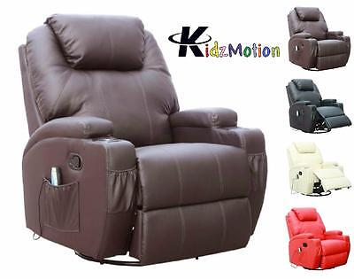 Kidzmotion Leather Recliner Rise and Recline Chair - electric recline & lift