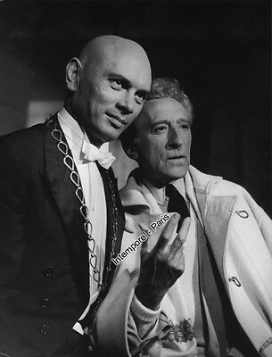 Reproduction photo TESTAMENT D'ORPHEE (le) - COCTEAU - Yul BRYNNER