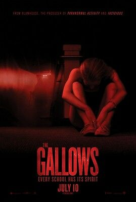 Gallows - original DS movie poster - 27x40 D/S  Horror