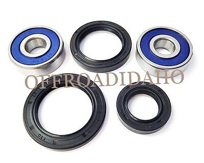 Front Axle Wheel Bearing Seal Kit Honda 1974-1977 Cb360, 1975 1976 1977 Cb400F