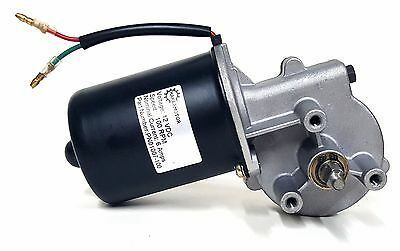 Makermotor 100 RPM Electric Gear Motor 12v Low Speed Gearmotor DC Reversible